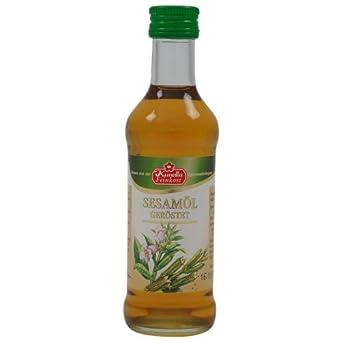 Sesamöl geröstet - Kunella Feinkost (100 ml)