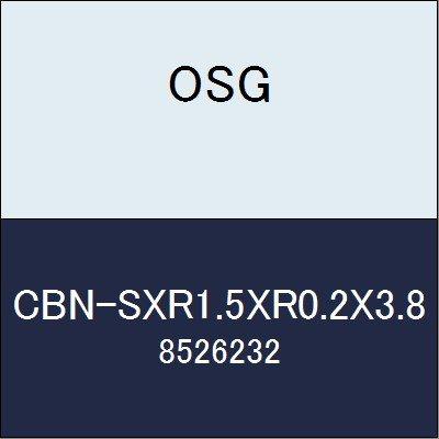 OSG エンドミル CBN-SXR1.5XR0.2X3.8 商品番号 8526232