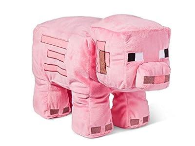 Minecraft Pig Pink Plush Pillow Buddy Toy