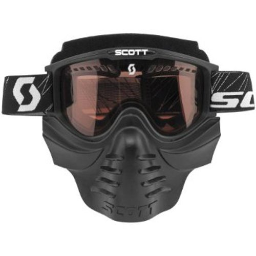 Scott Sports 83X Safari Facemask Goggles (Black Frame/Rose Lens)