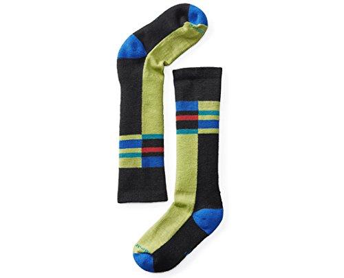 Smartwool Kids' Wintersport Stripe Socks (Black) Large