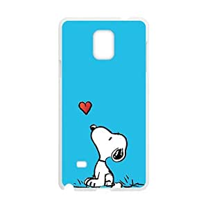 Lovely snoopy Cell Phone Case for Samsung Galaxy Note4