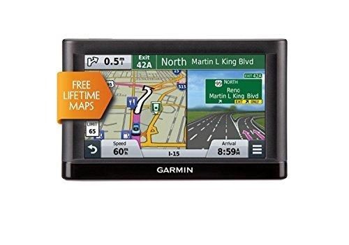 Garmin nüvi 56LM GPS Navigators System with Spoken Turn-By-Turn Directions, Preloaded Maps and Speed Limit Displays (USA and Canada) (Certified Refurbished) by Garmin