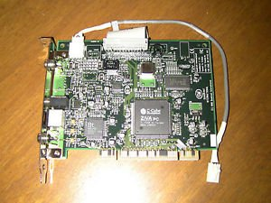 Dell 0007998D Cinemaster Dvd Decoder And Playback Card With Ntsc Rca Svideo