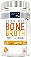 BONE BROTH Premium Beef Bone Broth Concentrate Turmeric Flavour - Maximized Nutrition Bone Broth On The Go - No Hormones...