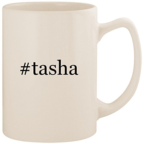 Price comparison product image #tasha - White Hashtag 14oz Ceramic Statesman Coffee Mug Cup
