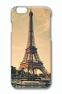 Architectural Landscape-Paris Eiffel Tower Slim Hard Cover for iPhone 6 Case (4.7 inch) PC 3D Cases