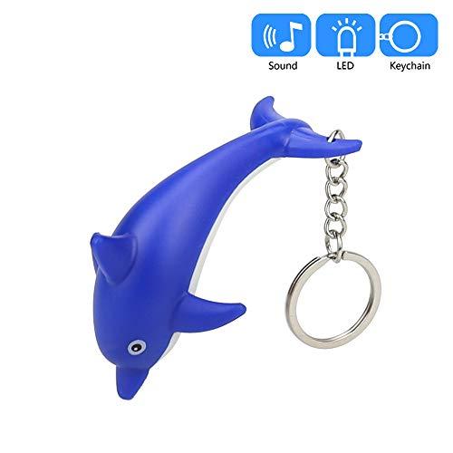 dolphin flashlight keychain toys