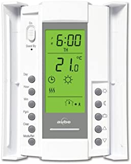 hunter 44905 universal 7 day programmable thermostat programmable rh amazon com Hunter Electronic Thermostat Hunter Thermostat Wiring Diagram