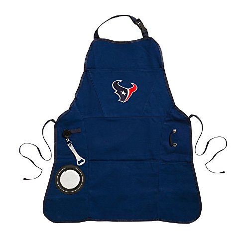 Team Sports America Ultimate NFL Tailgate Grilling Apron, Houston Texans - Houston Texans Apron