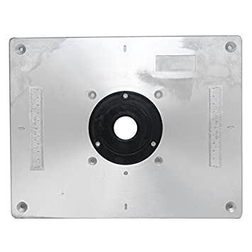 Aluminum router table insert plate 235mm x 300mm x 8mm amazon aluminum router table insert plate 235mm x 300mm x 8mm for keyboard keysfo Images