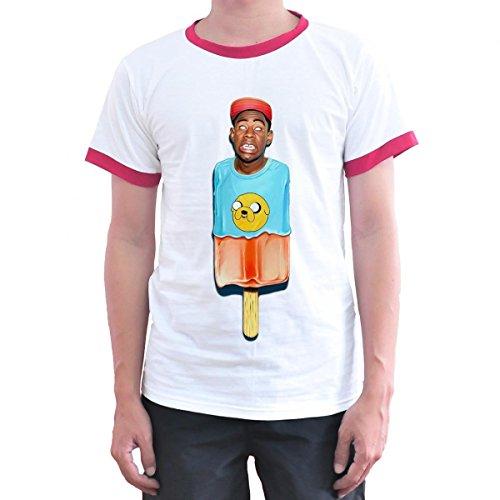 Toyz T shirt Store Tyler The Creator T Shirt Medium White (Beanie Tyler)