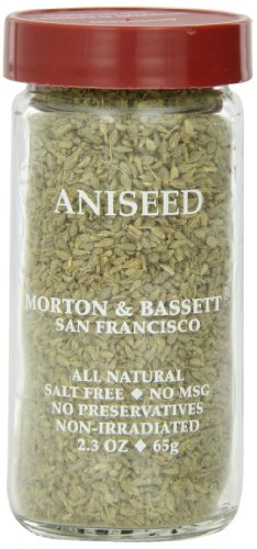 - Morton & Basset Spices, Aniseed, 2.3 Ounce (Pack of 3)
