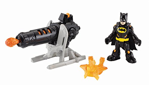Fisher-Price Imaginext DC Super Friends, Heat Blast Batman Action Figure (Penguin Man From Batman)