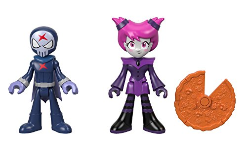 Fisher-Price Imaginext Teen Titans Go! Red X & Jinx -