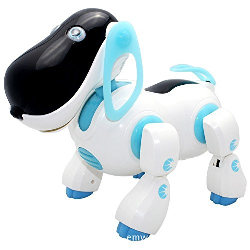 New Mannequin Superb Robotic Canine Pretty Music Shine Clever Digital Robotic Strolling Canine Pet Motion Toy Pet Children Child with Music Mild  Evaluations