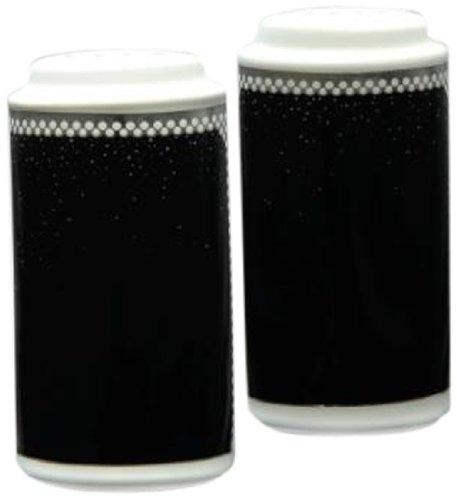 - Noritake Pearl Noir Salt and Pepper Shaker, 4-Inch