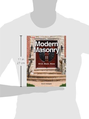 Modern Masonry: Brick, Block, Stone [Lab workbook]