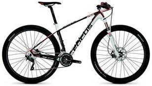 Focus Raven 29 R LTD XT 30G - Bicicleta (42 cm), color blanco ...
