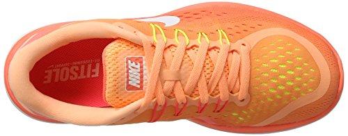 Nike 898476, Zapatillas para Mujer Varios colores (Naranja / Bco  /  Mayo)