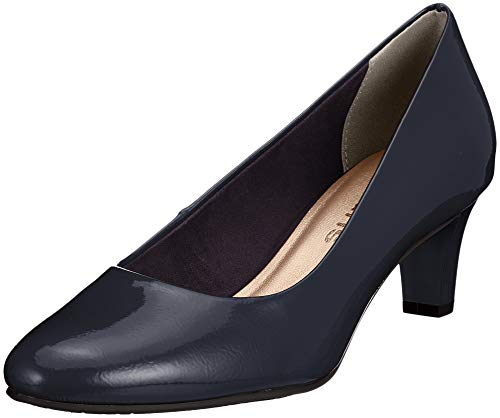 21 Escarpins Femme 826 navy Bleu Tamaris Patent 22493 75C8qq