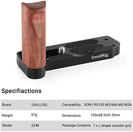 SmallRig L-forma IN LEGNO Grip Per Sony RX100 V VA III IV VI 2248