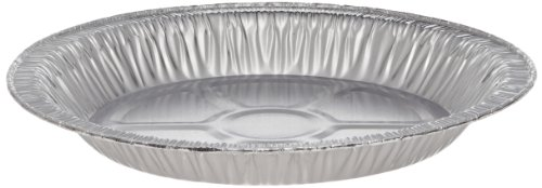 HFA 30430 Aluminum 9-Inch Pie Pan, Dimensions: 9-Inch Top Out, 8-Inch Top in, 6 3/8-Inch Bottom (Case of 200) (Aluminum Pie Pans 9 Inch compare prices)