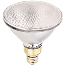 Globe Electric 00310 90-Watt Par 38 Flood Light, Halogen Medium Base Light Bulb, 2-Pack