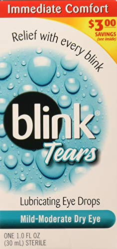 Blink Tears Lubricating Eye Drops Mild-Moderate Dry Eye 30 mL (Pack of 2)