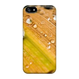Ultra Slim Fit Hard AnnetteL Case Cover Specially Made For Iphone 5/5s- Leaf