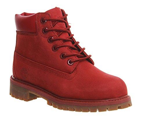 Timberland 6 In De Klassieke Boot Ftc_6 In Premium Wp Boot 14749, Unisex-kinder Stiefel Rot