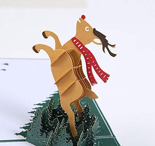 BC Worldwide Ltd hecho a mano 3D emergente popup Navidad ...