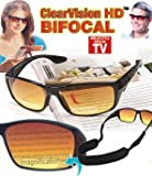 Clearvision HD Bifocals Sunglasses- 2.0x Magnification