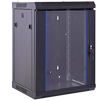 Safstar Wall Mount IT Network Server Cabinet Enclosure Data Devices Rack