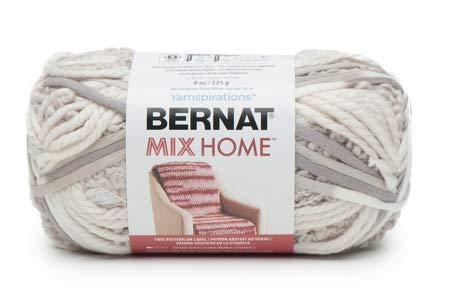 Bernat 16199797008 Mix Home Yarn, in The Clouds