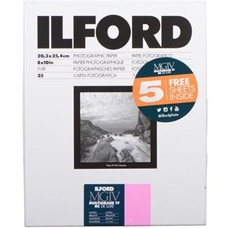 Ilford 8x10 RC Glossy 25+5 (30) Sheet 1178274 by Ilford