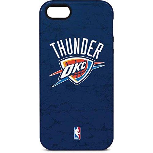 Oklahoma City Thunder iPhone 5/5s/SE Case - OKC Thunder Distressed Blue | NBA & Skinit Pro Case