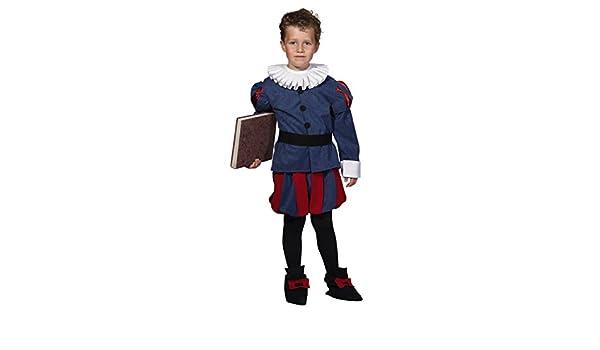 Disfraz de Cervantes para niño - 7 - 9 años: Amazon.es: Juguetes y ...