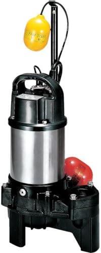 TRUSCO ツルミ 樹脂製汚物用水中ハイスピンポンプ 60Hz 40PUA2.15 60HZ