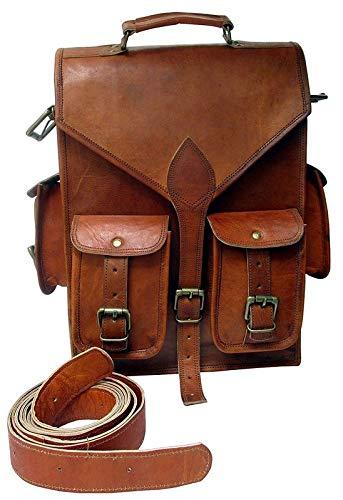 Genuine Leather Backpack Backpacks