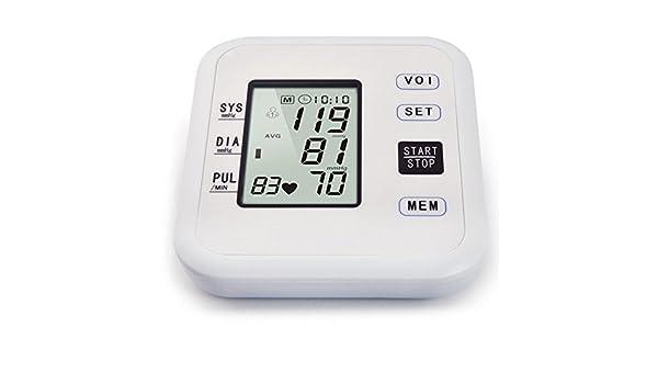 Tensiometro De Brazo Digital,Macchina Con Esclusivo Per Letture Accurate, Sfigmomanometro Digitale LCD: Amazon.es: Hogar