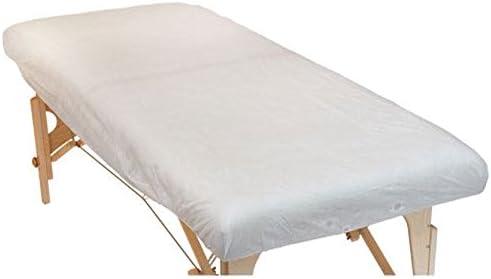 10 pieza desechables de – Sábana bajera ajustable, tamaño XL, para camilla de masaje (190 x 91 x 15 cm), práctica requisitos, Higiene sábana bajera, ...