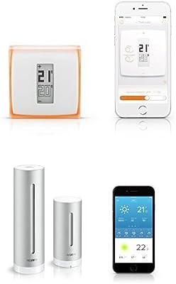 Netatmo - Termostato para Smartphone + Estación meteorológica ...