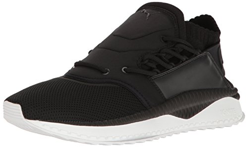 PUMA Men's Tsugi Shinsei Sneaker, Black White, 10 M US