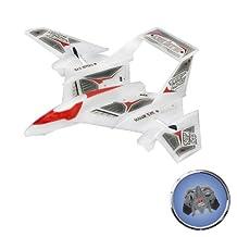 Air Hogs - Hawk Eye - White/Red & Grey