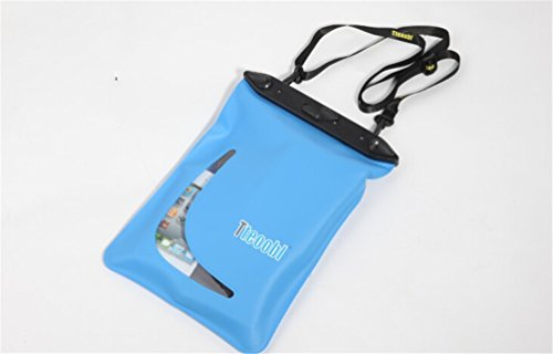 Accesorios de natación a prueba de agua bolsa de almacenamiento azul