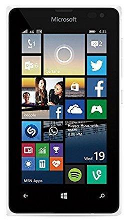 Microsoft Lumia 435 8GB 4G Unlocked GSM Windows Smartphone - (White)