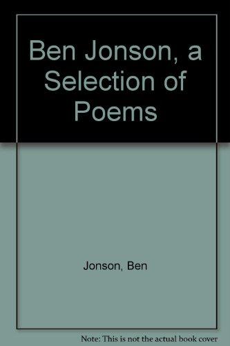 Ben Jonson (Oxford Poetry Library)