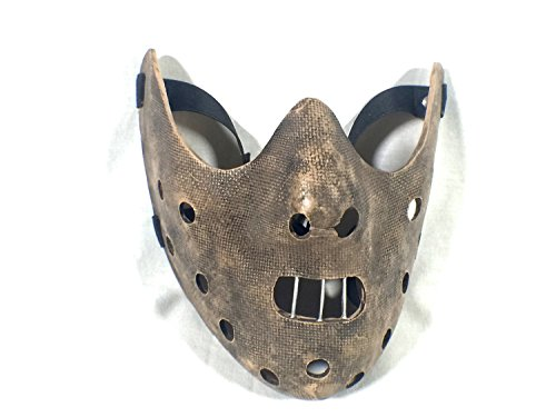 Reel Art Hannibal Lector Mask, Silence of The Lambs