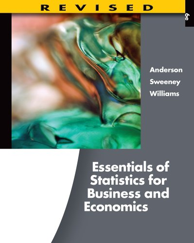 Bundle: Essentials of Statistics for Business and Economics, Revised (with Printed Access Card), 6th + ApliaTM, 2 terms